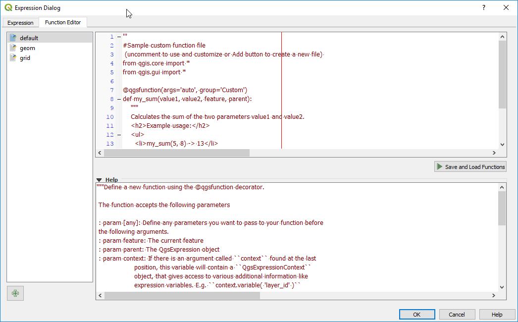 Custom Expression Functions - QGIS + Python = ❤❤